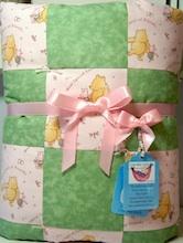 bassinet baby quilt