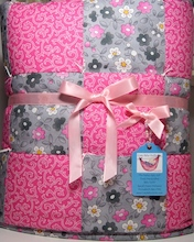 Pretty Girl Bugs Baby Quilt