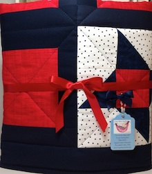 Click baby quilt for a closer look