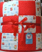 Little Fire Cheif Baby Quilt
