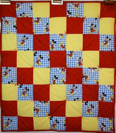 Bassinet bedding, handmade baby quilt, cradle bedding, baby quilt ... : mickey mouse baby quilt - Adamdwight.com