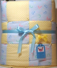 Mickey Mouse Baby Boy Quilt