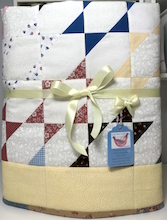 Stretched Star Baby Quilt